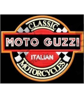 Embroidered patch MOTO GUZZI ITALY CLASSIC