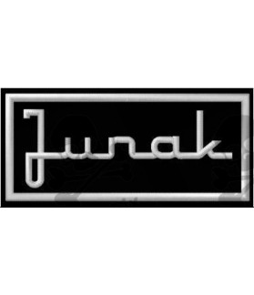 Embroidered patch JUNAK TEXT