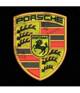 Embroidered Patch PORSCHE