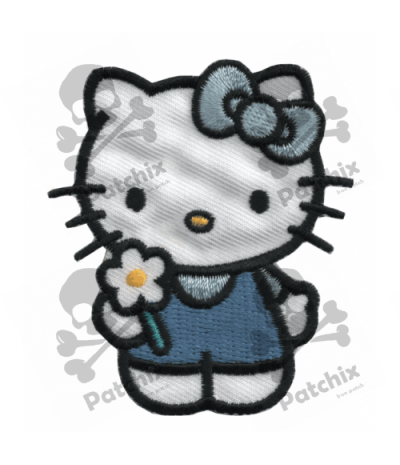 Embroidered patch HELLO KITTY