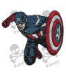 Embroidered patch THE AVENGERS