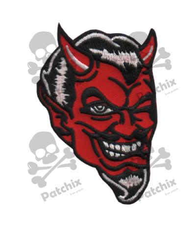 Embroidered patch DEMON