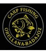 Embroidered Patch CARP FISHING CUSTOMIZABLE