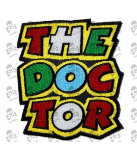 Embroidered patch THE DOCTOR VALENTINO ROSSI