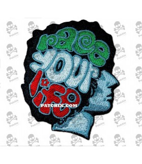 Embroidered Patch RACE YOUR LIFE MARCO SIMONCELLI