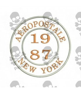 Embroidered patch AEROPOSTALE