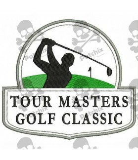 Embroidered Patch GOLF MASTERS