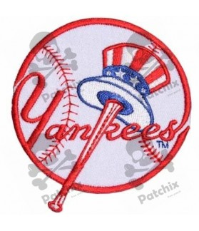 Embroidered Patch MLB Baseball NEW YORK Yankees