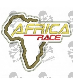 Embroidered Patche AFRICA RACE