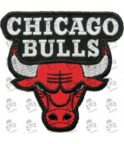 Embroidered Patch CHICAGO BULLS