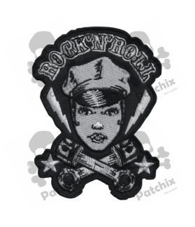 Embroidered patch COLLECTOR ROCK´ROLL