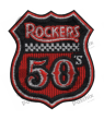 Embroidered patch COLLECTOR ROCKERS 50