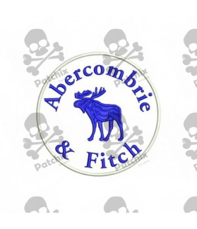 Embroidered Patch ABERCOMBRIE & FITCH