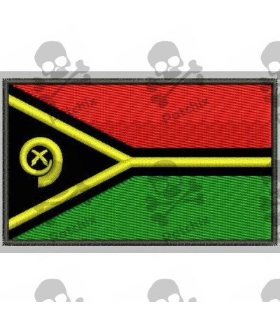 Embroidered patch Iron patch FLAG DJIBOUTI