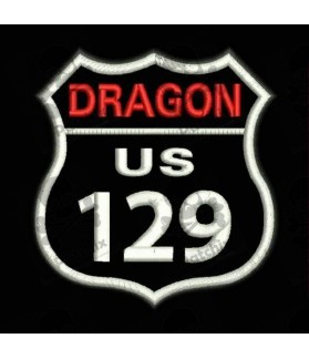 Embroidered Patch DRAGON US129