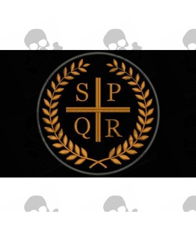 Embroidered patch iron patch SPQR ROMAN LEGIONS