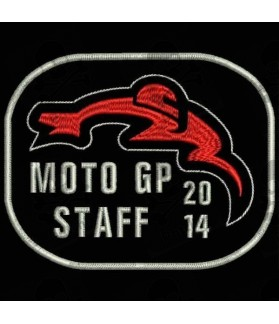 Embroidered Patch MOTO GP