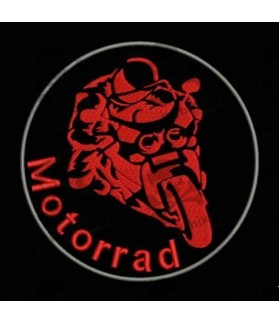 Embroidered Patch MOTORRAD