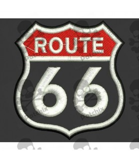 Embroidered patch ROUTE 66 CLASSIC