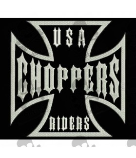 Embroidered patch USA CHOPPERS