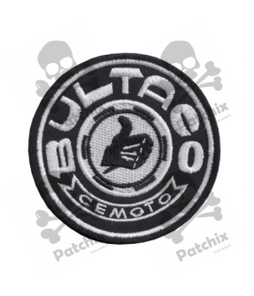 Embroidered patch BULTACO