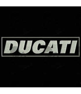 Embroidered patch DUCATI