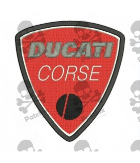 Embroidered patch DUCATI CORSE