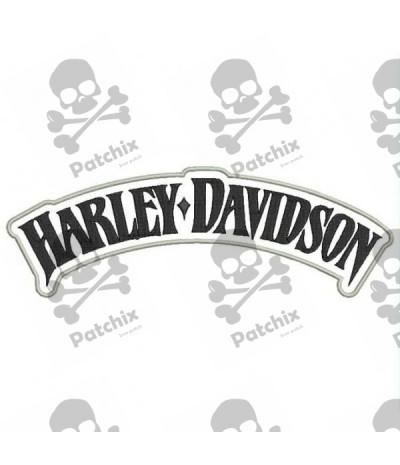 Harley-Davidson® Eagle Winged Large Brown Patch, 7-3/4/