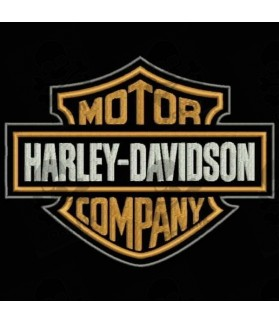 Embroidered patch HARLEY DAVIDSON MOTOR COMPANY