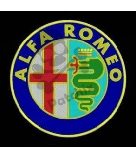 Embroidered Patch ALFA ROMEO