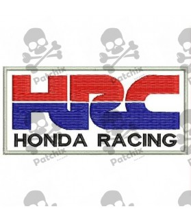 Embroidered patch HONDA HRC