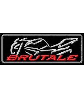Iron on patch MV AUGUSTA BRUTALE