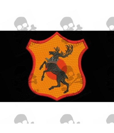 Iron patch Game Of Thrones BARATHEON