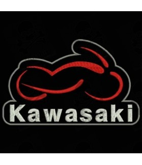 Embroidered patch KAWASAKI