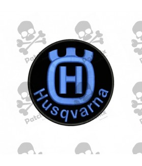 Embroidered patch HUSQVARNA