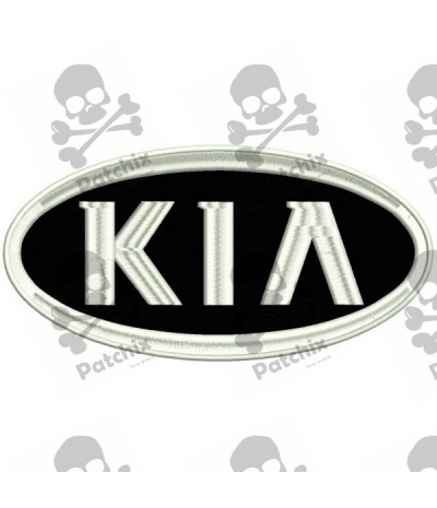 Embroidered patch CAR KIA