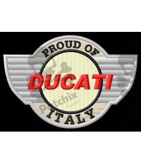 Iron patch Motorcycle DUCATI ITALY