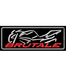 Iron patch Motorcycle MV AUGUSTA BRUTALE