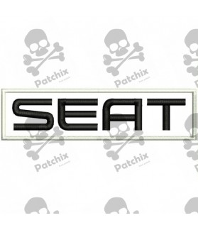 Embroidered patch SEAT
