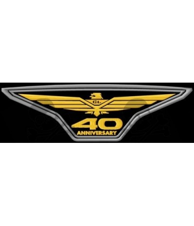 Iron Patch HONDA GOLD WING 40Th
