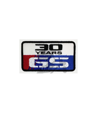Iron patch BMW GS 30 YEARS