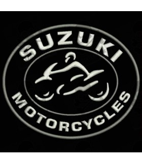 Embroidered patch SUZUKI MOTORCYCLES