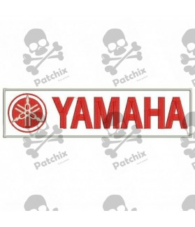 Embroidered patch YAMAHA