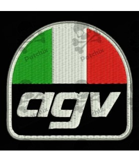 Embroidered patch AGV