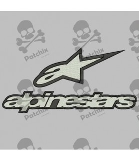 Embroidered patch ALPINESTAR