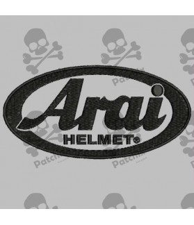 Embroidered patch ARAI