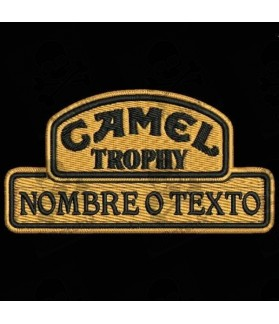 Embroidered Patch CAMEL TROPHY CUSTOMIZABLE
