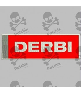 Embroidered patch DERBI