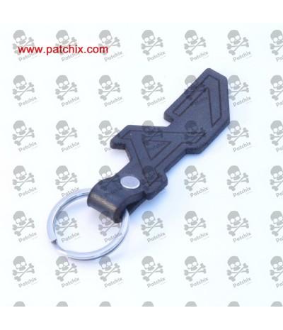 Key chain LEATHER AUDI LOGO A7