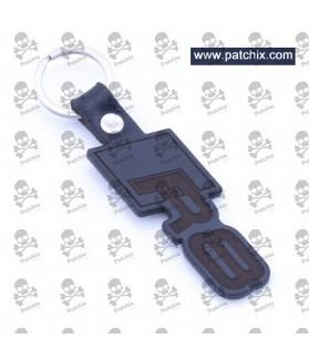 Key chain LEATHER AUDI R8